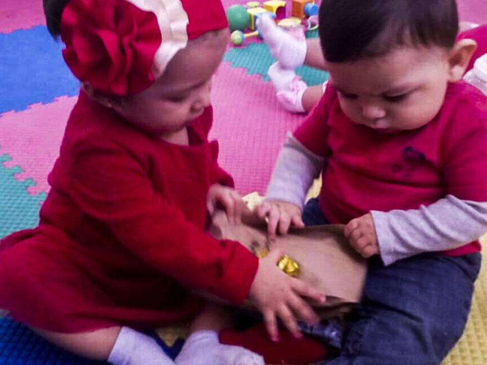 Estimulacion para niños de 3 - 12 meses de edad