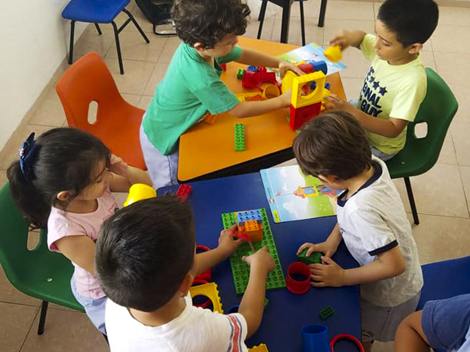 Preescolar para niños de 4 - 6 años de edad